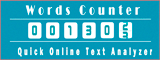 online words counter